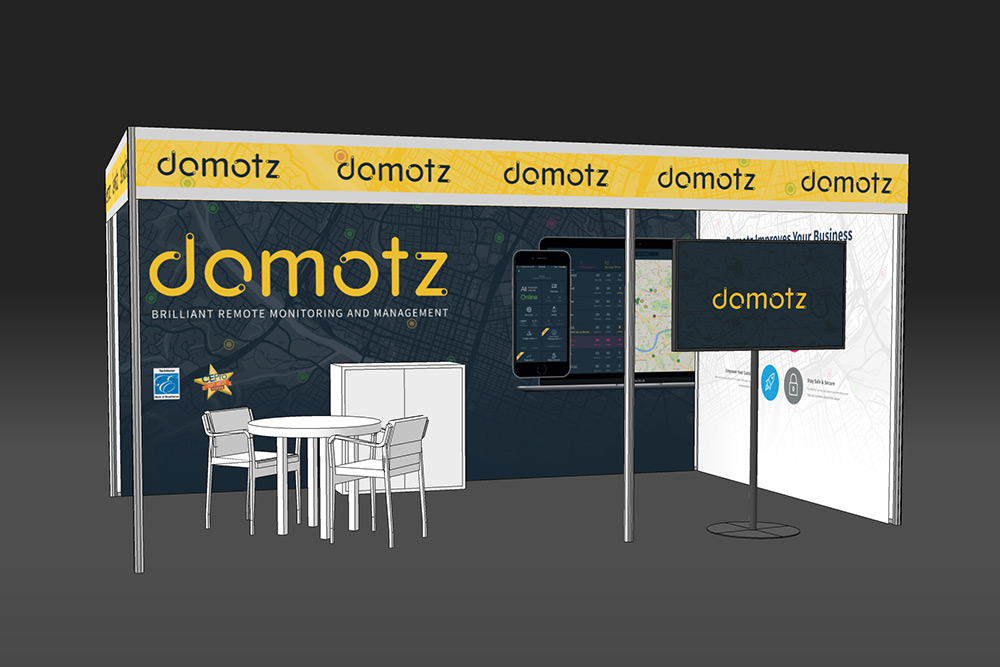 Domotz ISE Booth 1