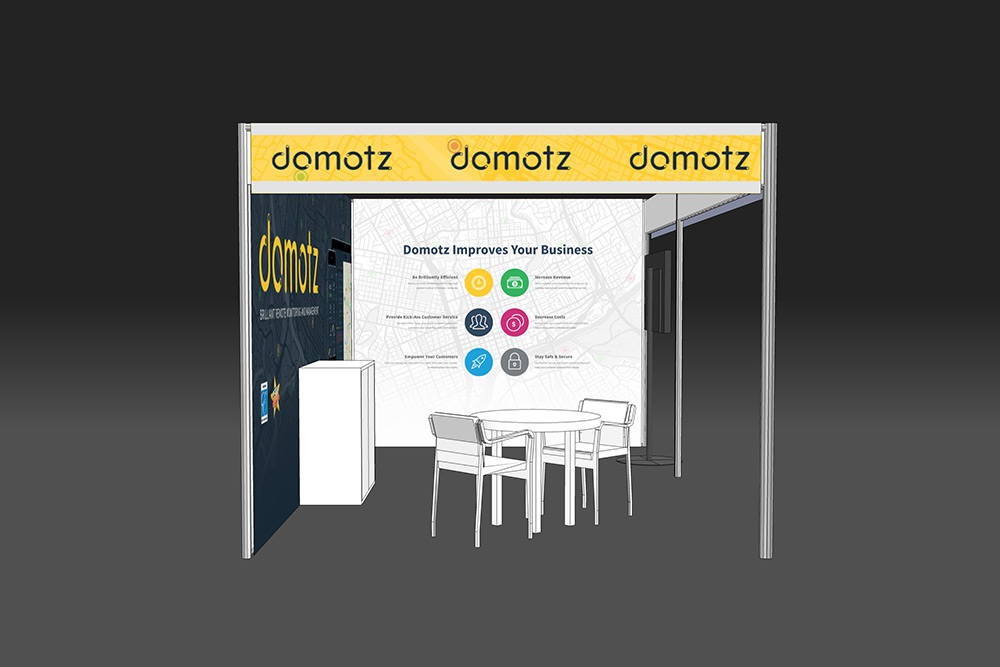 Domotz ISE Booth 2