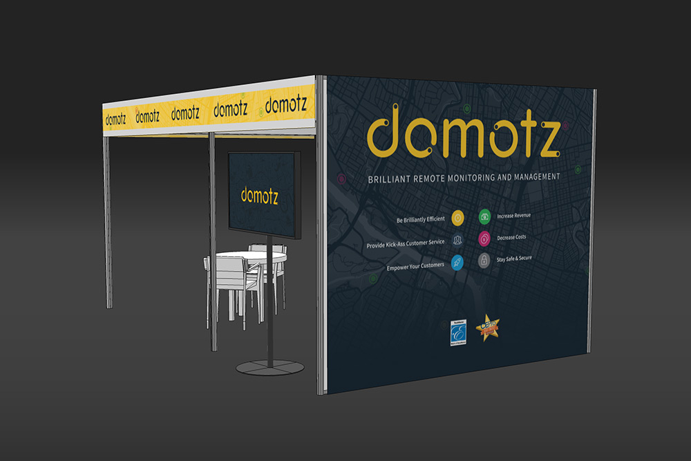 Domotz ISE Booth 3