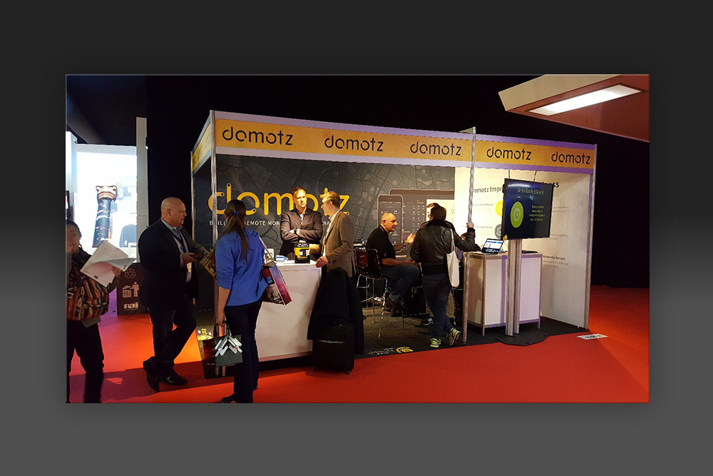 Domotz ISE Booth 4